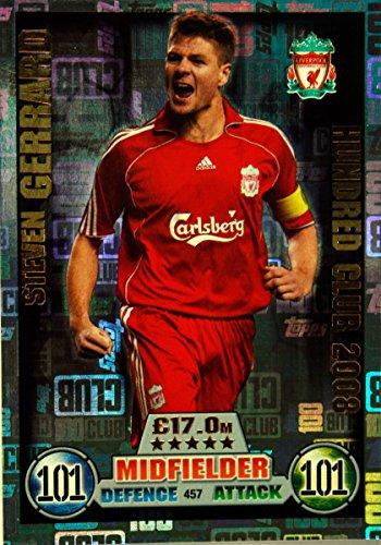 Steven Gerrard Liverpool (Match Attax 16/17 > Steven Gerrard Liverpool 100 CLUB LEGEND > #457)