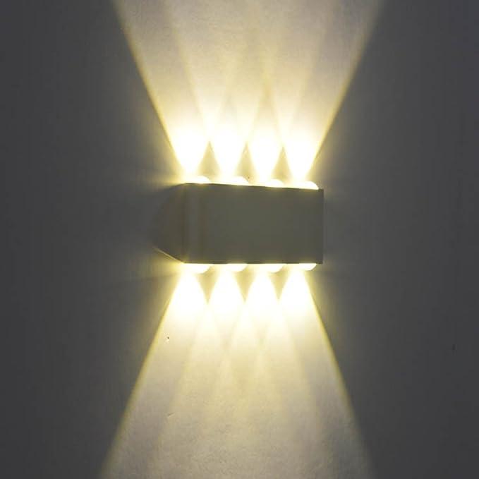 Applique MuralLumières Moderne Éclairage Pour Interieur Aluminium Escalier Lampe Cuisine Led Murale Led8w Phoewon Chambre E29DHWI
