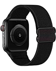 KOUUNN Milanese Loop Metal Bands Compatible with Apple Watch Bands 38mm 40mm 42mm 44mm iWatch SE Series 6 5 4 3 2 1 Bracelet, Women Men Magnetic Stainless Steel Mesh Adjustable Replacement Wrist Strap