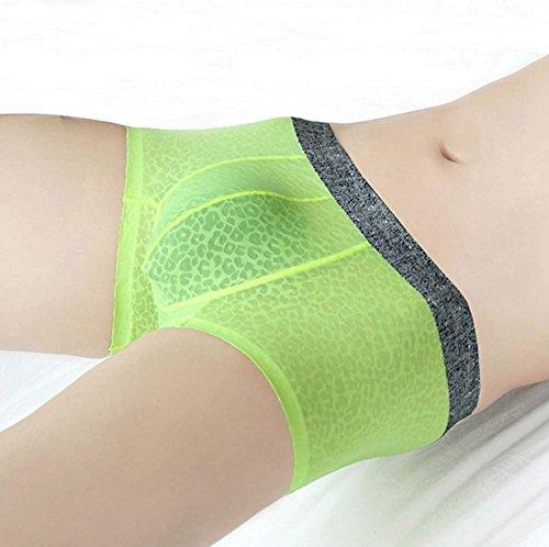 Hba 2 Slim Lace De Sexy Underwear Paquete Green Bragas Los Hombres Transparentes Briefs Boxeador Transpirable rqwfBrOY0x