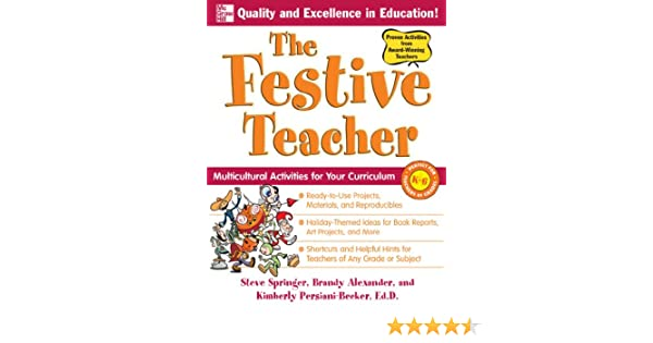 Amazon.com: The Festive Teacher: Multicultural Activities for Your ...