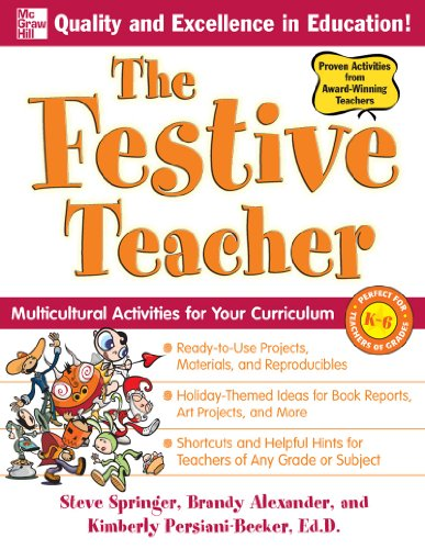 Download The Festive Teacher: Multicultural Activities for
