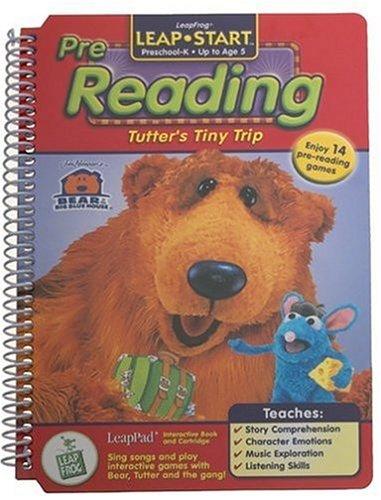 k kindergarten leappad book tutter