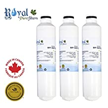 Samsung DA29-00020B, DA29-00020A, HAF-CIN, HAF-CIN-EXP, HAF-CINEXP, HAFCIN, replacement water filter by Royal Pure Filters RPF-DA29-0020B (Pack of 3)