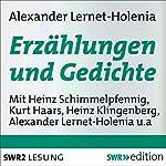 Erzählungen und Gedichte | Alexander Lernet-Holenia
