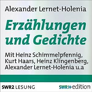 Erzählungen und Gedichte Hörbuch