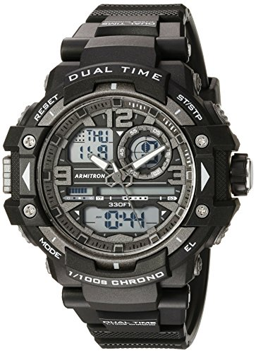 Armitron Sport Men's 20/5062BLK Analog-Digital