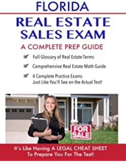 amazon com florida real estate exam manual for sales associates and