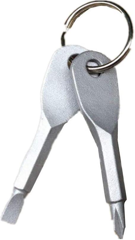 STO Mini Destornillador Llavero, fácil de Llevar, Textura práctica ...