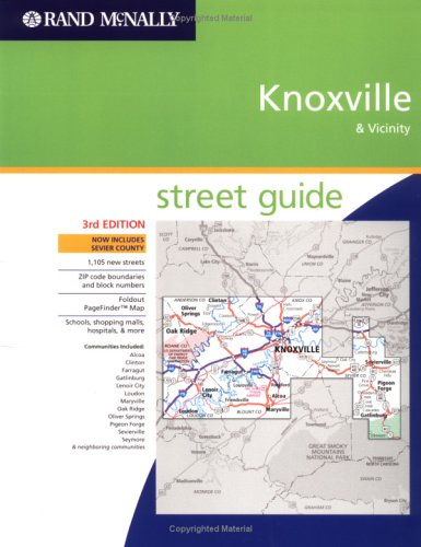 Rand Mcnally Knoxville & Vicinity: Street Guide