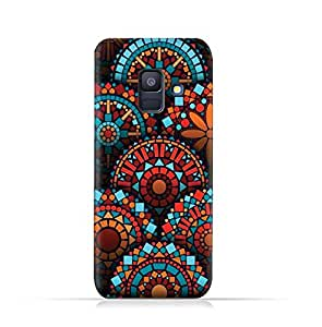 AMC Design Samsung Galaxy A6 2018 TPU Protective Silicone Case with Geometrical Mandalas Pattern