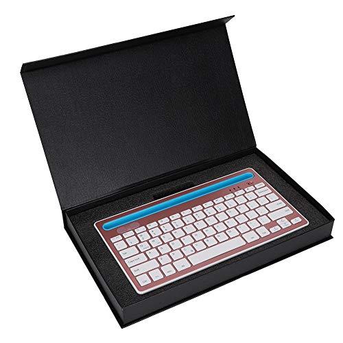 Wireless Bluetooth Mini Waterproof Keyboard, SUNROSE Ultra-Thin
