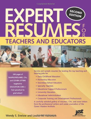 Read Online Expert Resumes For Teachers And Educators ebook