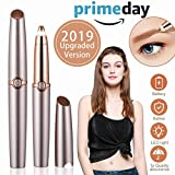 Eyebrow Hair Remover for Women, Eyebrows Hair Removal Electric Trimmer Razor Battery Operated for Smooth Finishing and Painless Touch As Seen on TV