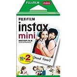 Filme Instax Mini com 20 Fotos, Fujifilm (embalagem pode variar)
