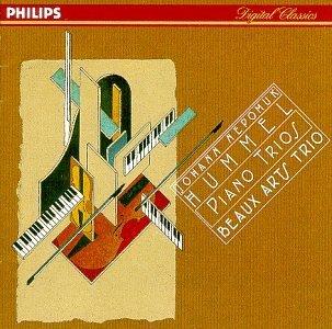 (Hummel:Piano Trios by Beaux Arts Trio (1998-05-12))