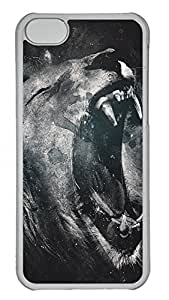 iPhone 5C Cases & Covers - Roaring Lion Custom PC Soft Case Cover Protector for iPhone 5C - Transparent