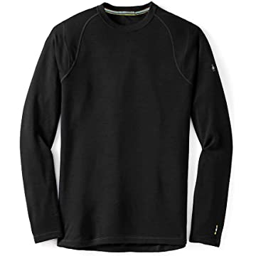 Smartwool Men's NTS Mid 250 Crew Top Black T-Shirt LG