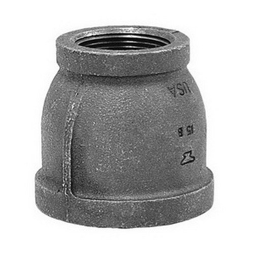 2 x 1 FNPT Malleable Iron Reducer Coupling