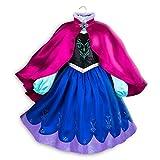Disney Anna Costume for Kids - Frozen Size 5/6 Multi