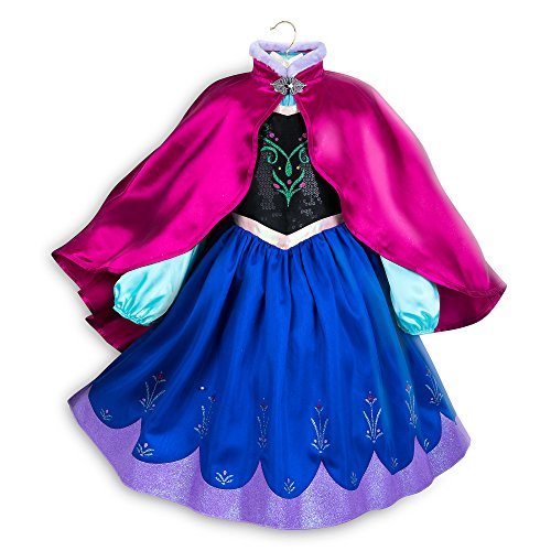Disney Anna Costume for Kids - Frozen Size 7/8 -