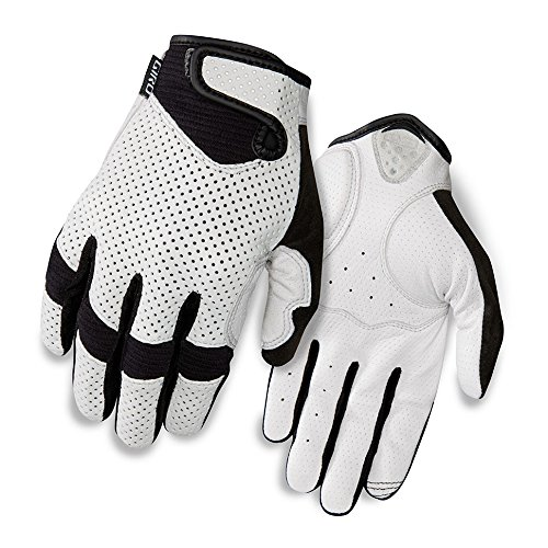 Giro LX LF Cycling Glove - Men's White, L