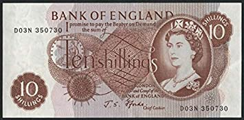Image result for 10 shilling note