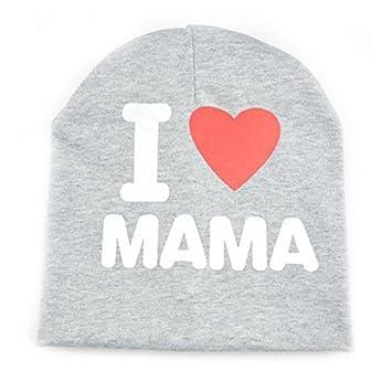 Wansan Baby Mütze I Love Mom und Dad Hat Kind Hat Baby Hat Kind Hat ...