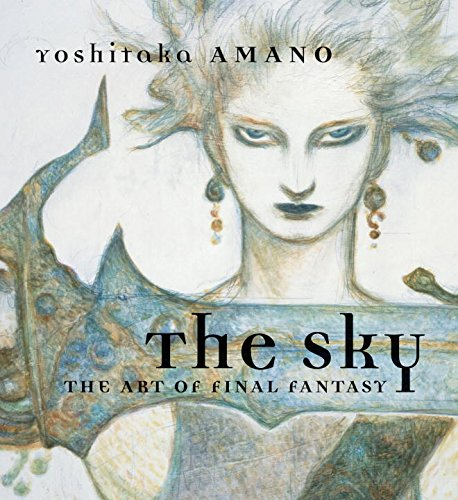 The Sky: The Art of Final Fantasy Slipcased Edition cover