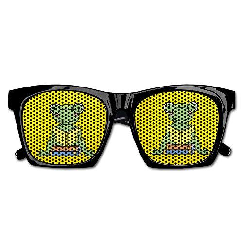 Cherry Park Froggy Love Reading Book Retro Party Sunglasses & - Sunglasses Solo Cheap