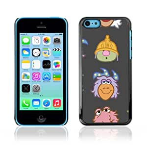 Designer Depo Hard Protection Case for Apple iPhone 5C / Muppet Heads