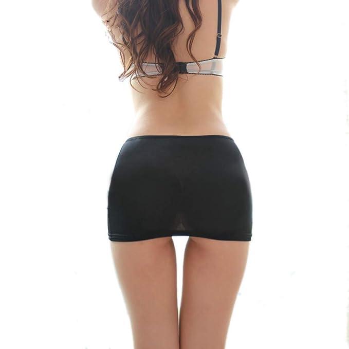 GYYWAN Señoras Calientes Bodycon Vendaje Elástico Falda Micro Mini ...