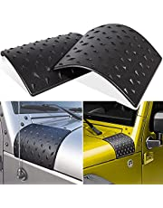 Danti Cowl Body Armor Powder Coated Finish Outer Cowling Cover for Jeep Wrangler JK Rubicon Sahara Sport X & Unlimited 2/4 door 2007-2018