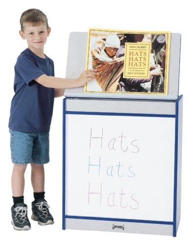 Big Book Easel - Write-N-Wipe - Orange - School & Play Furniture by CutieBeauty jc
