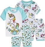 Pajamas for Girls Summer Baby Clothes Kid Children Horse PJs Short Set 4