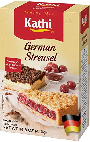 Kathi Streusel Cake Mix, 14.8 Ounce