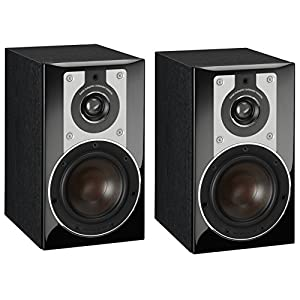 DALI OPTICON 1 4.75″ Woofer 2-Way Bookshelf Speaker – Black Ash Vinyl (Pair)
