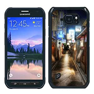 Unique Samsung Galaxy S6 Active Case ,Hot Sale And Popular Designed Case With Kyoto Japan Alley Black Samsung Galaxy S6 Active Skin Cover Great Quality Phone Case