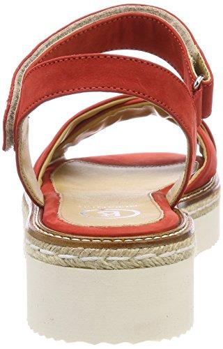 Sandales B 2b Bogner Rouge Femme Plateforme Corail Oslo TtTqZw5B