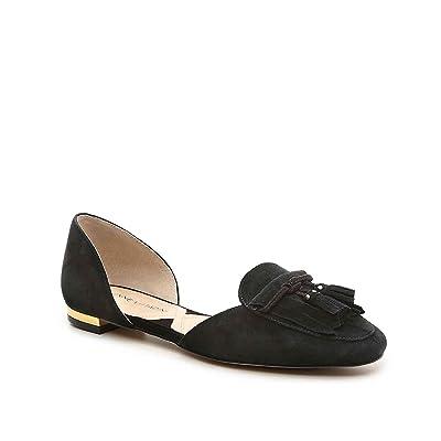 ADRIENNE VITTADINI Alvin Flat Shoes, Black, 9 M US