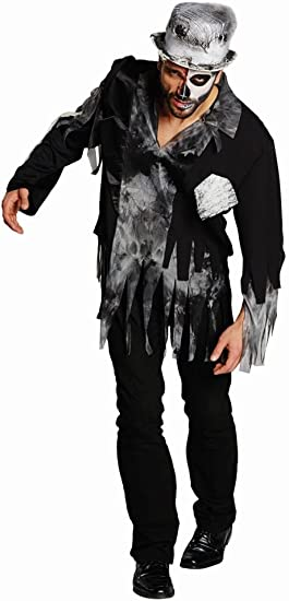 Disfraz de zombi para hombre para fiesta de Halloween Zombie ...