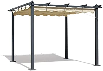 Verdelook - Techo de tela de repuesto para carpa Firenze 3 x 3, cubierta deslizante, plegable 784/3: Amazon.es: Bricolaje y herramientas