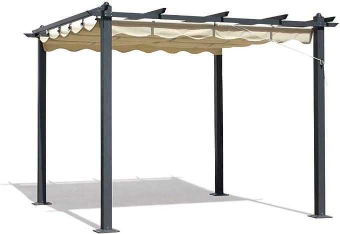 Verdelook - Techo de tela de repuesto para carpa Firenze 3 x 3 ...