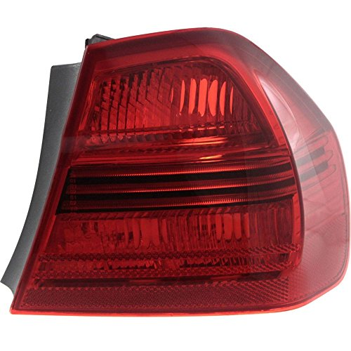 Tail Light for BMW 3-Series 06-08 Outer Lens and Housing Sedan Right Side