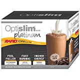 Optislim VLCD Platinum Chocolate Shake 21x25g rapid formula cholocate flavor product of Australia
