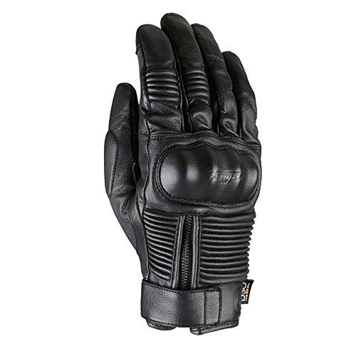 Furygan James D30 All Weather Leather Waterproof Motorcycle Gloves - Black XL