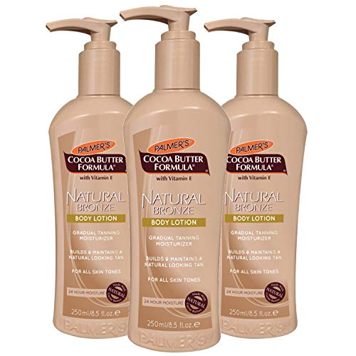 Palmer's Cocoa Butter Formula with Vitamin E, Natural Bronze Body Lotion, 8.5 oz. (Pack of 3)