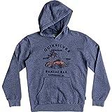 Quiksilver Big Boys' Banzai Bar Hood Youth Hoodie Jacket, Bijou Blue, XL/16