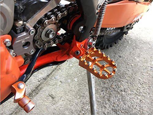 Motocilcleta Clavijas Pedales Reposapies Offroad Motocross Enduro Freeride Supermotard SX SX-F EXC EXCF XCF XCW 50 65 85 125 150 200 250 300 350 400 450 500 505 530
