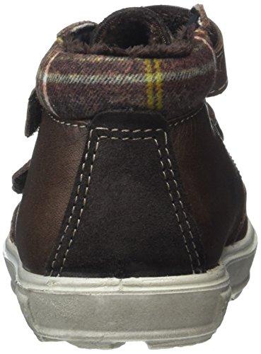 Ricosta Jungen Basti Hohe Sneaker Braun (Mokka)
